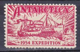 Antarctica Expedition 1954 - Timbres
