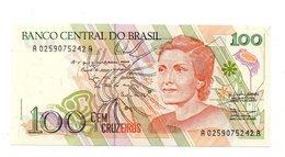 Brasile - 1989 - Banconota Da 100 Cruzeiros - Nuova - (FDC12180) - Brasile