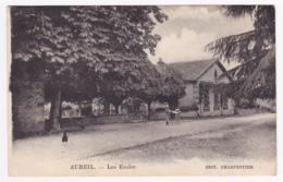 Aureil - Les Ecoles (animation) Circulé 1942, Sous Enveloppe - France