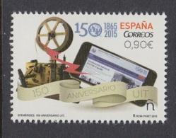 27.- SPAIN ESPAGNE 2015 150 YEARS ITU UIT - 1931-Oggi: 2. Rep. - ... Juan Carlos I