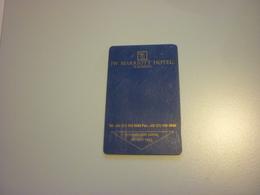 Indonesia Surabaya JW Marriott Hotel Room Key Card - Cartes D'hotel