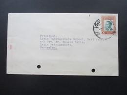 Jordanien 1964 Briefe Nach Jerusalem. United Nations Relief And Works Agency For Palestine Refugees. 2 Belege - Jordanien