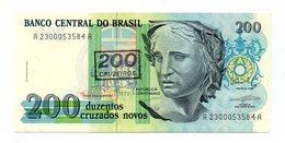 Brasile -1990 - Banconota Da 200 Cruzados Nuovi - (FDC12182) - Brasile