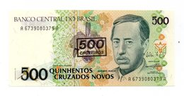 Brasile -1990 - Banconota Da 500 Cruzados Nuovi - (FDC12183) - Brasile
