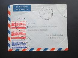 Libanon 1953 Luftpost / Par Avion Georges & Robert Toutoungi Beyrouth (Liban) - Libanon