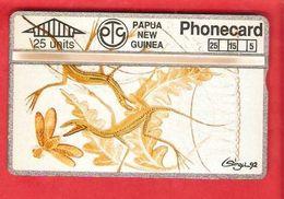 PAPUA NEW GUINEA Optical Card  401 A  -  MINT - Papua New Guinea