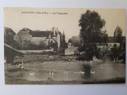 CPA JANCIGNY COTE D'OR LA VINGEANNE ANNEES 1930 - Francia
