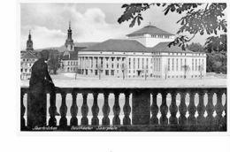 GERMANY  - VINTAGE POSTCARD SAARBRÚCHEN - GAUTHEATER SAARPLATZ -  NEW HALF SHINING NR2531 EMIL HARTMANN POST7141 - Saarbrücken