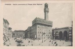E506 FIRENZE - VEDUTA PANORAMICA DI PIAZZA DELLA SIGNORIA - Firenze