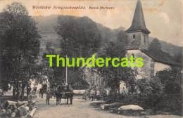 CPA 88 WESTLICHER KRIEGSSCHAUPLATZ BASSE MERLUSSE  FELDPOST GUERRE 1914 1918 - Guerre 1914-18