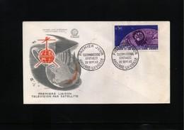 Andorra 1962 Space / Raumfahrt FDC - FDC & Commemoratives