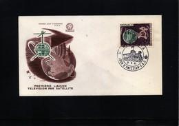 Monaco 1963 Space / Raumfahrt FDC - FDC & Commemoratives