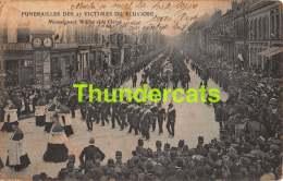 CPA  62 CALAIS GUERRE 1914 1918 FUNERAILLES DES 27 VICTIMES DU PLUVOISE - Calais