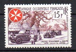 Col10  :  AOF Afrique  : N° 63 Neuf X MH  ,  Cote 2,00 Euro - Ungebraucht