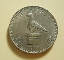 Rhodesia 20 Cents 1964 - Rhodésie