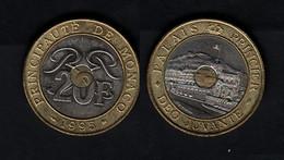 Monaco  20 Francs 1995 20F - 1960-2001 Nouveaux Francs