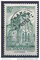 1943-51 MONACO Préoblitéré 2** Cathédrale - Monaco