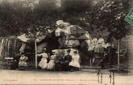 LAMALOU LES BAINS  GROTTE A L USCLADE - Lamalou Les Bains