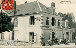 N°65025 -cpa Saint Gervais -O Bon 20 100 Z'0- Tabac- - Cafés