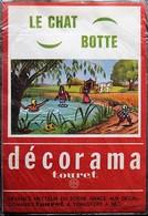 DECORAMA DECALCOMANIES TRANSFERT TOURET - Le Chat Botté - Vieux Papiers