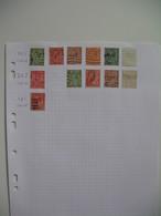 Perforé Perfin , Lot De Timbre Perforé Grande Bretagne : See Details, à Voir        D&J  /++++/   D&J - Grande-Bretagne
