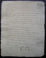 1792 Varambon Document Concernant Pierre Favre Et Philibert Soignat (?) Voir Photos - Manuscripts