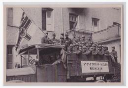 """DT- Reich (001229) Propaganda Sammelbild Deutschland Erwacht"""""""" Bild 25, Stoßtrupp Hitler 1923 - Germany"""