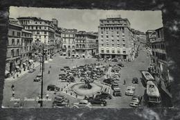 3448   Roma   Piazza Barberini / Bus / Auto - Places & Squares
