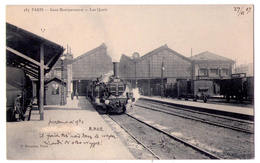 2675 - Paris - Gare Montparnasse -  Les Quais - P.Marmuse - N°383 - - Metro, Stations