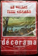 DECORAMA DECALCOMANIES TRANSFERT TOURET - Le Vilain Petit Canard - Old Paper