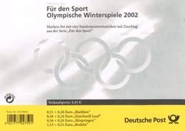 Bund 2002, Michel# MH 47 O EST Frankfurt - [7] République Fédérale