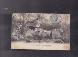 77 SEINE ET MARNE, Forêt De FONTAINBLEU , Le Rocher Des Ermites - Fontainebleau