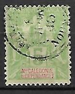 NOUVELLE CALEDONIE    -   1900 .  Y&T N° 59 Oblitéré .   Type Groupe. - Oblitérés