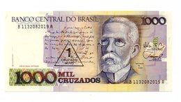 Brasile -1989 - Banconota Da 1000 Cruzados - 1 Cruzado  Nuovo - Nuova - (FDC12185) - Brasile
