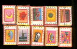 Pays-Bas 1998 En 10 Bottes De 100 Tembres NVPH 1773 - 1777  1.000 Tembres Cat V. Euro 500,00 - Gebruikt