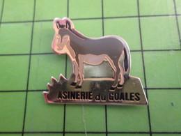 1118a Pin's Pins / Rare Et De Belle Qualité / THEME ANIMAUX /  ANE MASSEUR ANE ASINERIE DU GOALES - Animals