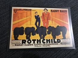 3 Cartes Postales Cinéma Rotchild - Brazza- Le 7-Eme Jours De Saint Malo - Posters On Cards
