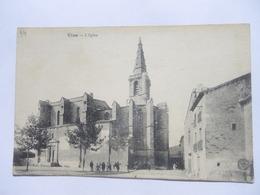 CPA 34 - VIAS L'EGLISE 1918 - Autres Communes