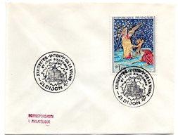 VIGNE & VIN = 21 DIJON 1968 = CACHET Illustré CONCORDANT = Fêtes De La Vigne Sur ENVELOPPE ENTIERE + JEUX D' AUTOMNE - Marcophilie (Lettres)