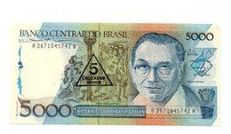 Brasile - Banconota Da 5000 Cruzados - 5 Cruzados  Nuovi - Nuova - (FDC12187) - Brasile
