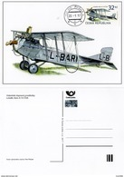 Carte Maximum 2017 Avion Ancien AERO A-14 CSA  Antic Airplane - FDC