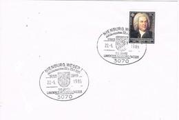 30026. Carta NIENBURG (Alemania Federal) 1985. Jubileum 100 Jahre - [7] República Federal