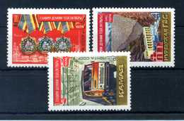 1974 URSS SET MNH ** - 1923-1991 URSS