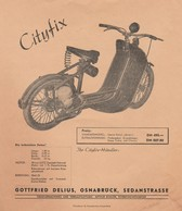 Cyclomoteur CITYFIX - Moto