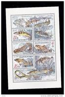 Bloc1998  De 3 Timbres Poisson Chien , Carpe , Apron YT 271/273 Neuf /  Sheet 1998 Mint Mi 317/319 Fishes - Blocks & Sheetlets