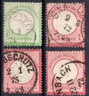 DR REICH MINI LOT BRUSTSCHILDE (BREAST SHIELD) GESTEMPELT - Germany