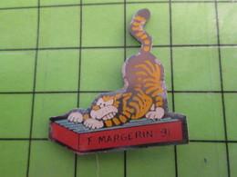 1118a Pin's Pins / Rare Et De Belle Qualité / THEME ANIMAUX / CHAT DESSIN DE MARGERIN - Animals