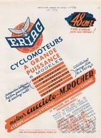 Cyclomoteur ERLAG - Moto