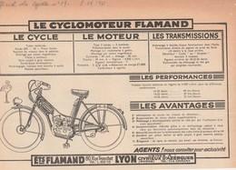 Cyclomoteur FLAMAND - Motos