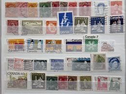 Canada 1870 / 2010, Kanada, Collection Of 38 Stamps, No Doubles - Canada